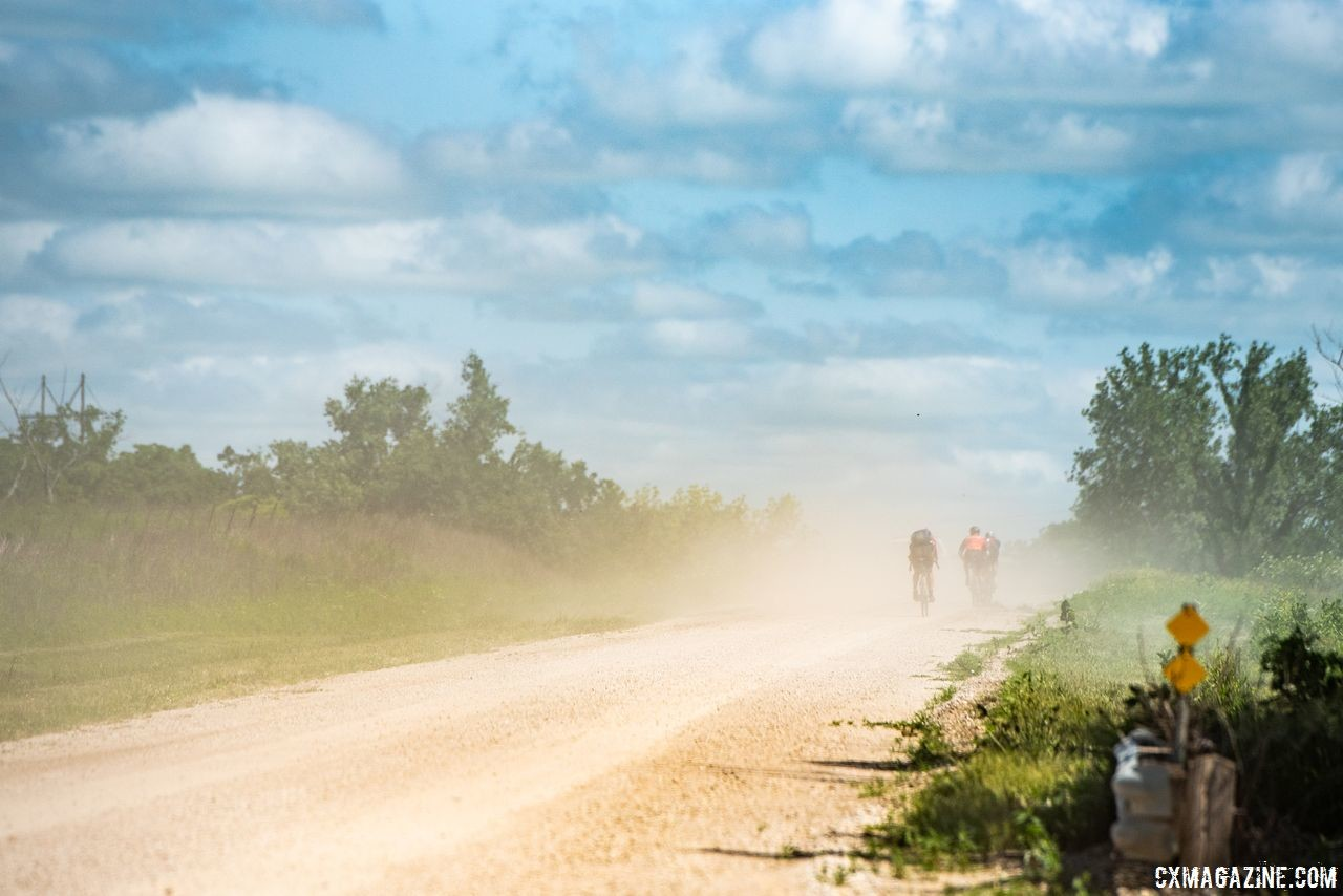 Roads from last year's Dirty Kanza 200 were a part of Saturday's La Grind course. 2018 Dirty Kanza 200. © Ian Matteson / ENVE Composites
