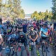 Sandy Floren, Anthony Clark, Carl Decker, Tobin Ortenblad and Olivia Dillon made sure they had an unobstructed view of the starting straight on their way to contest the pro titles. 2018 Lost and Found. © Cyclocross Magazine