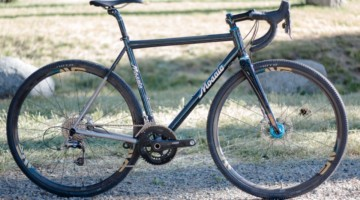 Mosaic Bespoke Bicycles' titanium GT-1 up for grabs via the Sierra Buttes Trail Stewardship raffle. © Cyclocross Magazine