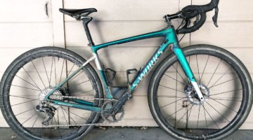 Olivia Dillon's 2018 Lost and Found winning Specialized S-Works Diverge gravel bike. photo: courtesy