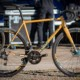 The steel Stinner Refugio gravel bke up for grabs in the trail stewardship raffle. Stinner Refugio steel handmade bike up for grabs. © Cyclocross Magazine