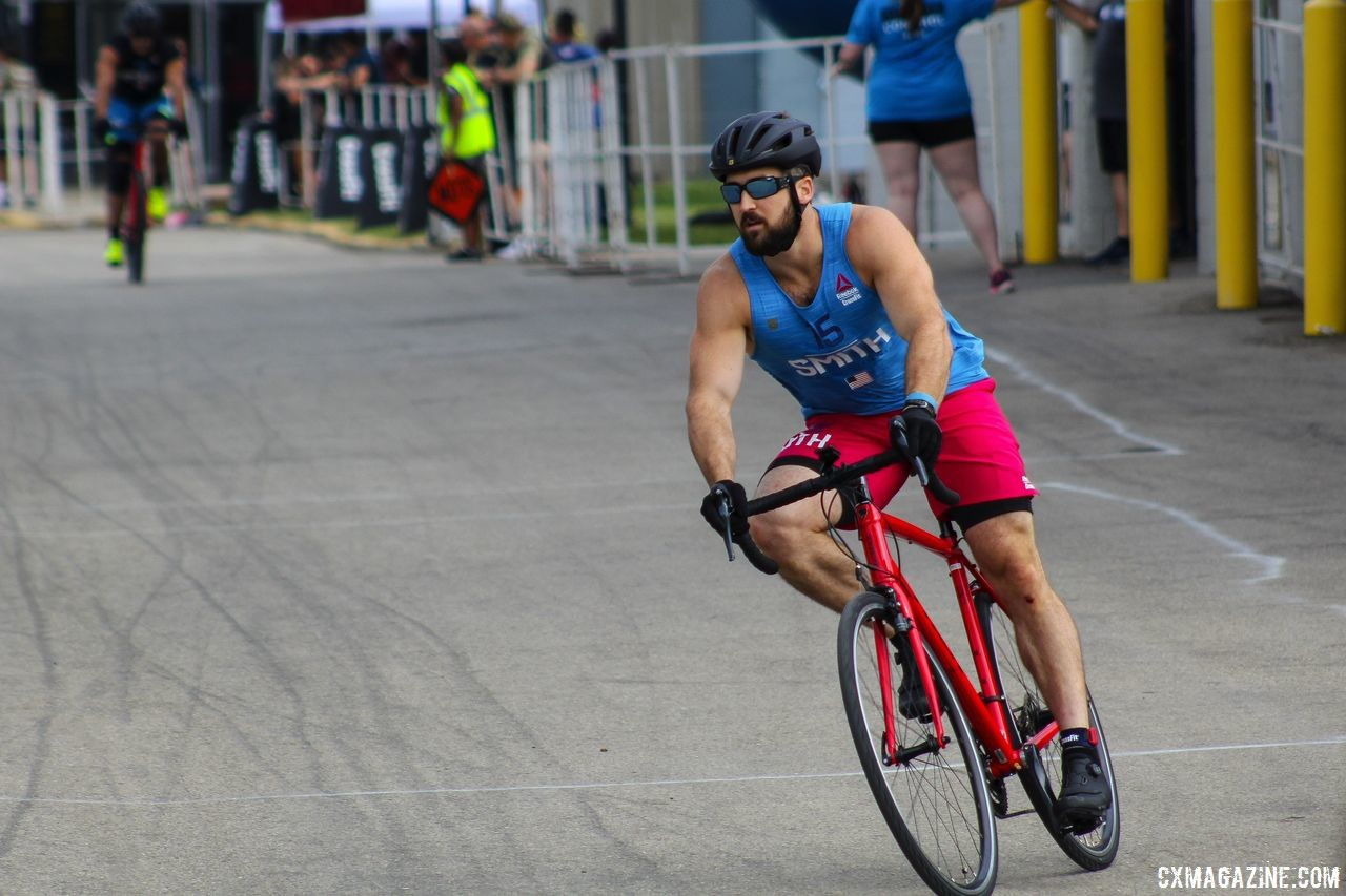 CrossFitters got to try out their Trek road bikes before Wednesday's criterium. 2018 CrossFit Games. © Cyclocross Magazine