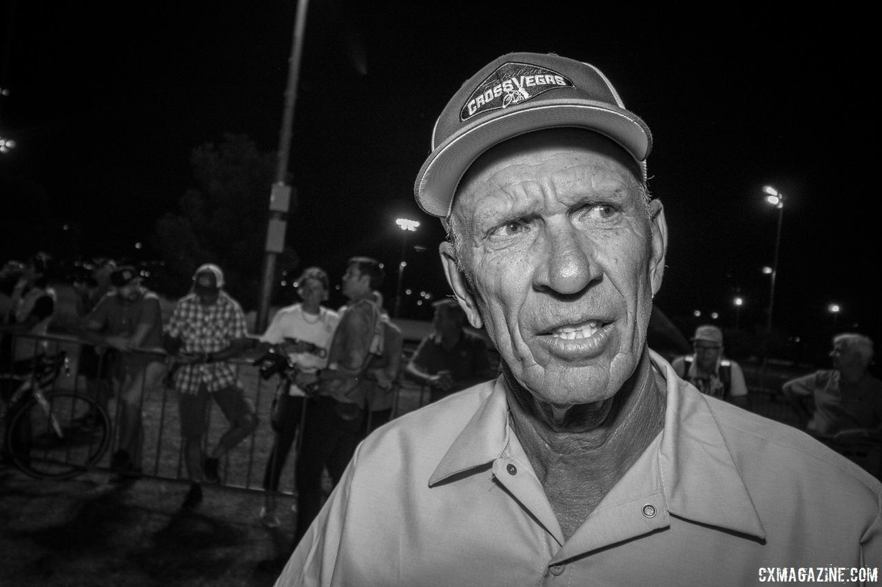 Find Brook Watts was the consensus advice of the informal advisers. 2017 CrossVegas. © A. Yee / Cyclocross Magazine