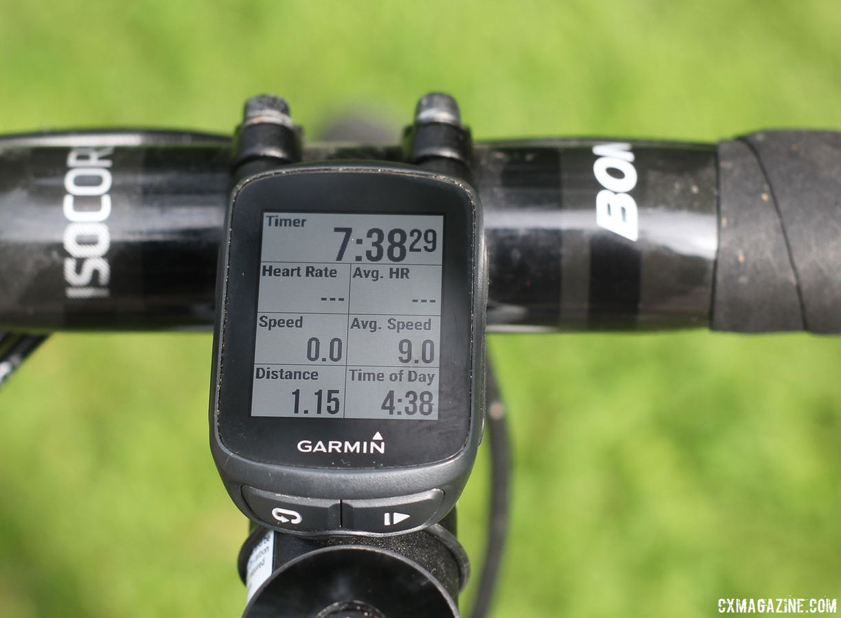 Garmin Edge 130 © Cyclocross Magazine
