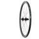 The rear wheel weighs a claimed 870g and features 24 bladed spokes laced 2x. Knight Composites 35 Clincher TLA Disc. © Cyclocross Magazine