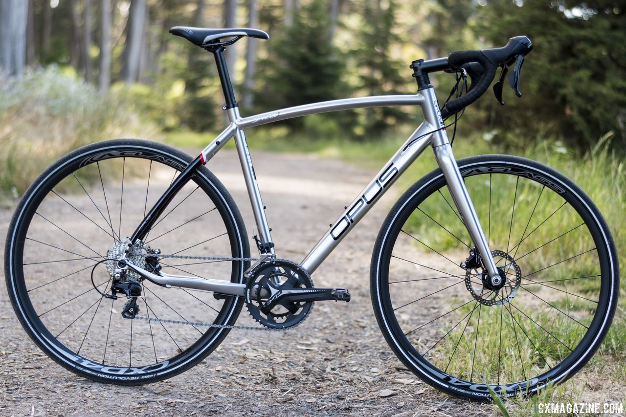 Opus Spark 1 gravel bike. © C. Lee / Cyclocross Magazine