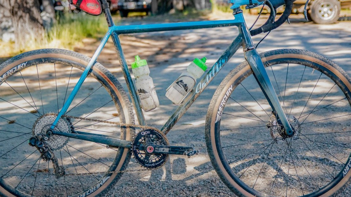 Matt Nelson's Steel SaltAir Gravel Bike. 2018 Lost and Found. © C. Lee / Cyclocross Magazine