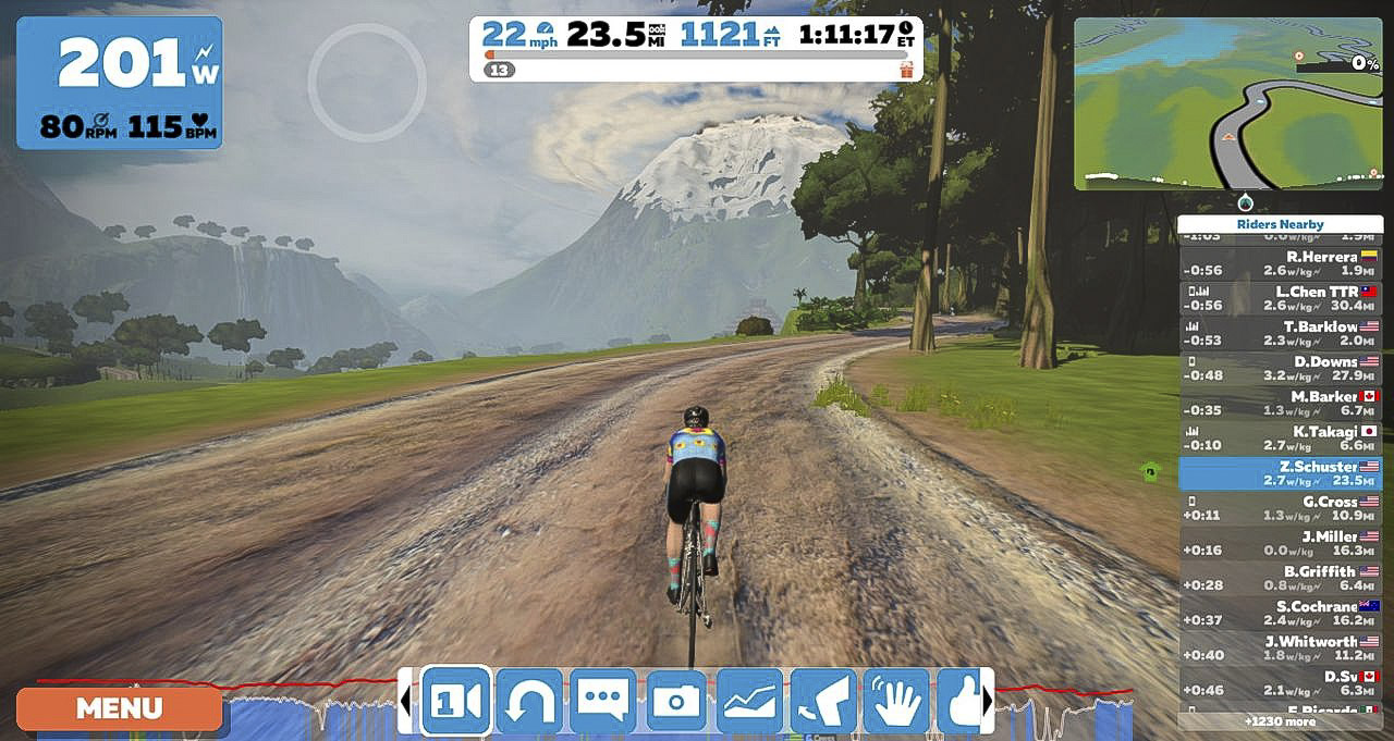 Review  Riding On Indoors with the Zwift Cycling App cf934e2d1