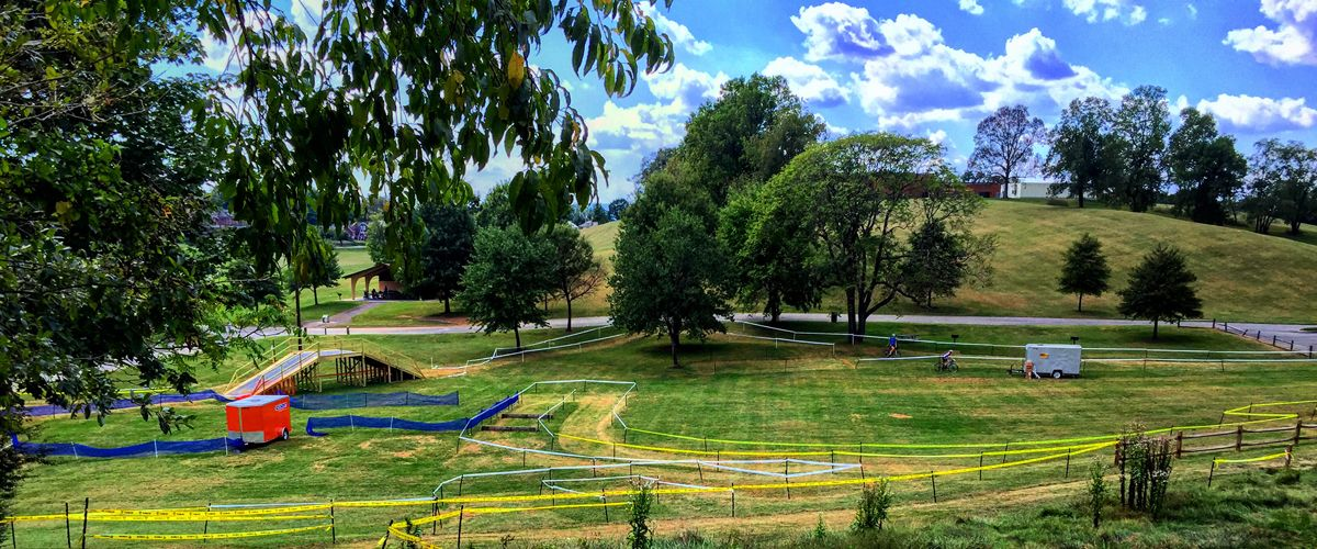 Roanoke's Fallon Park features a permanent cyclocross course. 2017 Go Cross © Pete Eshelman / Roanoke Outside