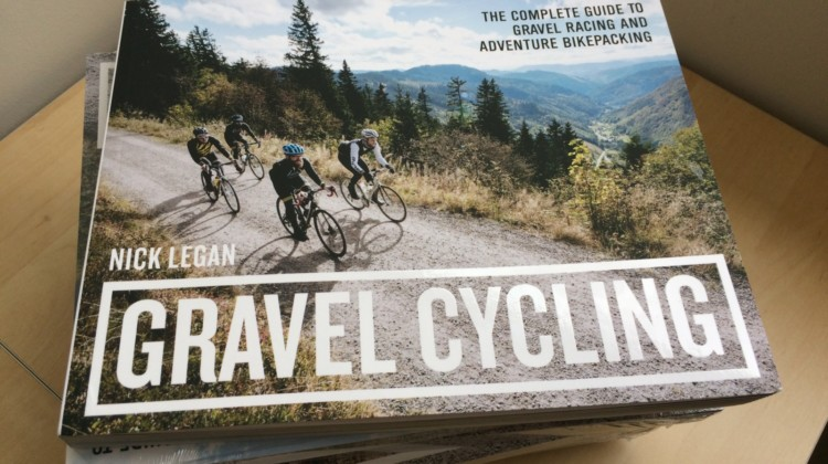 Nick Legan's book Gravel Cycling was a passion project for the cyclist and writer.