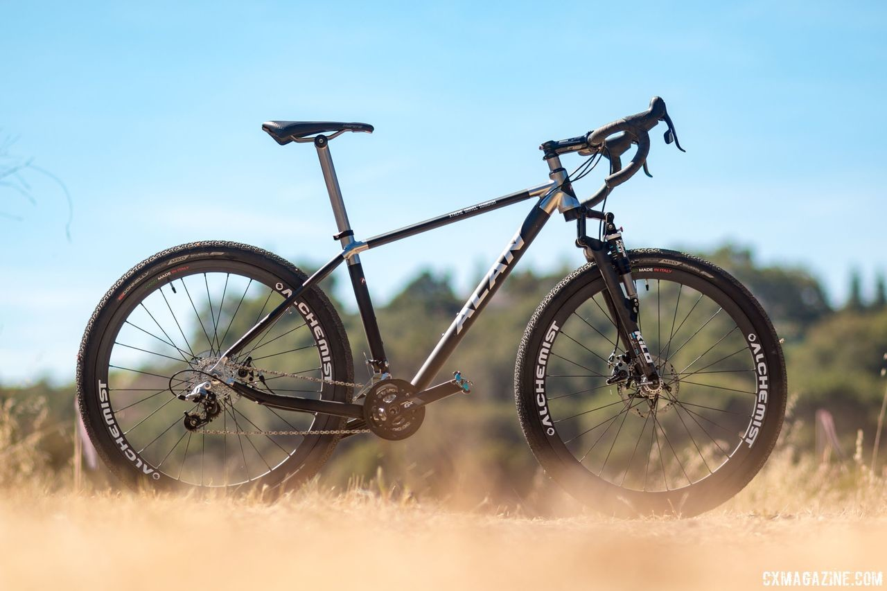 Alan Xtreme Gravel Scandium with Kilo fork and Alchemist wheels. © Cyclocross Magazine