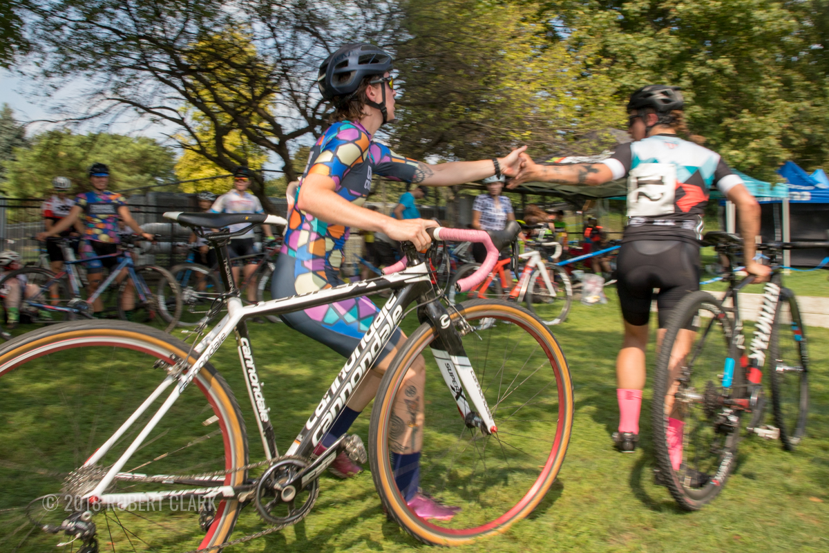 Relays allow opponents the chance to team up for a weekend before they do battle the rest of the season. 2018 xXx Racing-Athletico Relay Cross, Chicago. © Robert Clark