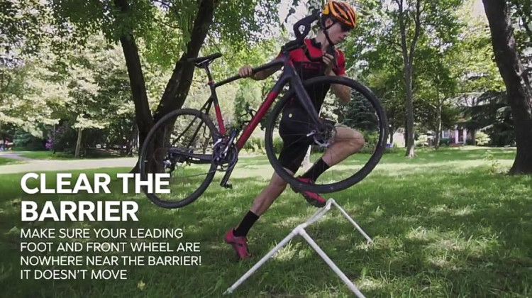 The Cycleboredom Barrier Breakdown breaks barriers down step by step. photo: YouTube screenshot