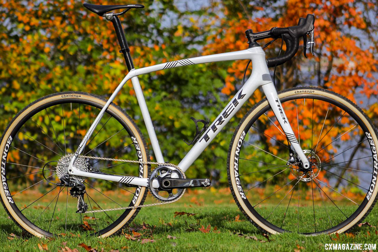Fall is coming, and the sleek Boone RSL frame is likely to stand out. Trek Boone RSL Cyclocross Frameset and Bike. © Z. Schuster / Cyclocross Magazine