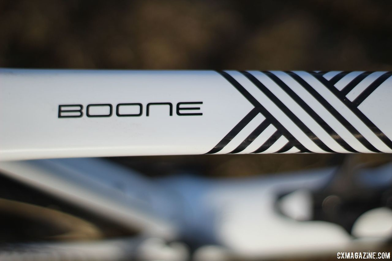 The Trek Boone has been the company's flagship cyclocross bike since it was first introduced in 2014. Trek Boone RSL Cyclocross Frameset and Bike. © Z. Schuster / Cyclocross Magazine