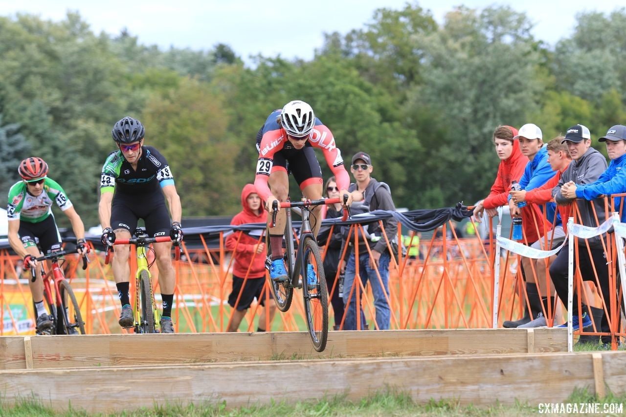 After struggling with injuries for several years. Bjorn Selander has been re-born as a cyclocrosser, again. 2018 Trek CX Cup, Waterloo © Cyclocross Magazine / D. Mable
