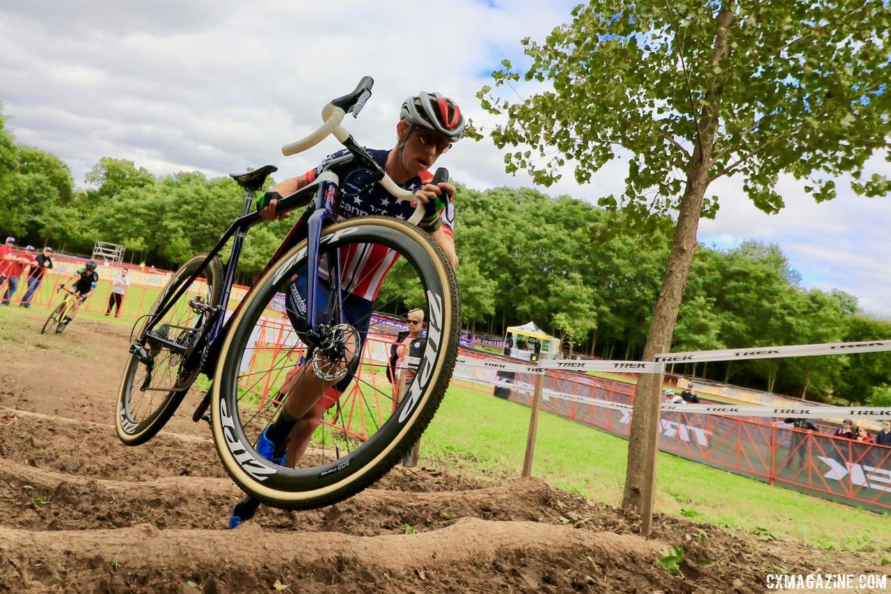 Stephen Hyde has new bikes for the new season. 2018 Trek CX Cup, Waterloo © Cyclocross Magazine / D. Mable