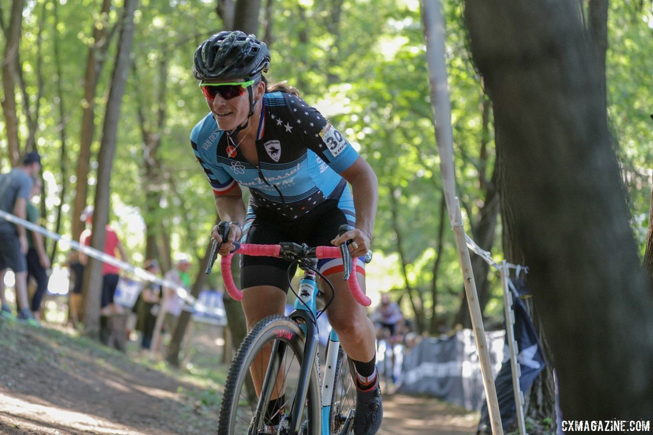 Caroline Mani, like Sunny Gilbert, is looking for a cyclocross season sponsor. © R. Clark / Cyclocross Magazine