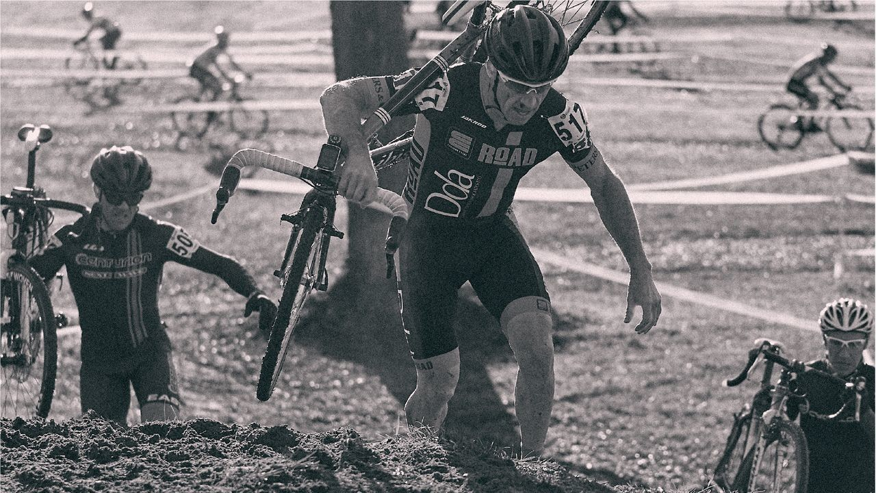 The venue hosted the 2016 and 2017 Canadian National Championships and includes a variety of challenges. 2018 Sherbrooke Cyclocross. photo: Cyclocross Sherbrooke