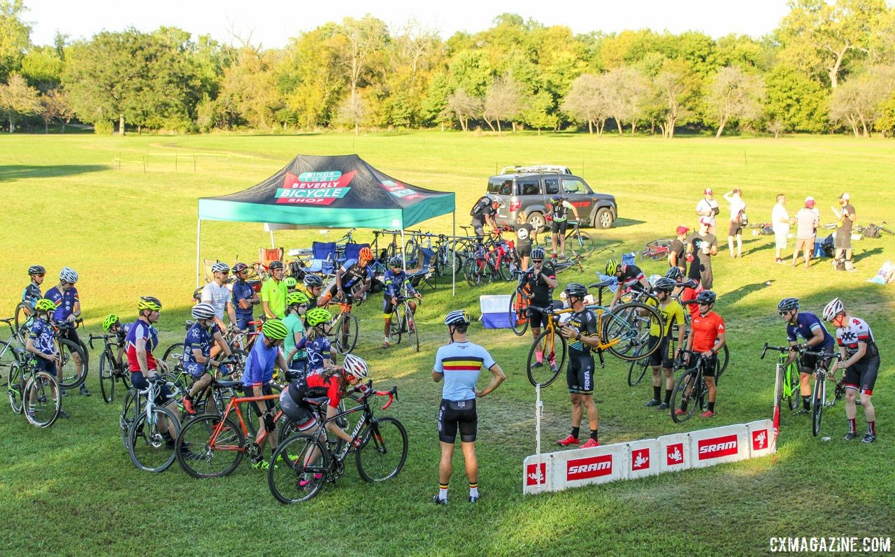 The 2018 Sven-Nado Clinic took place on Sunday in Chicago. © Cyclocross Magazine / Z. Schuster