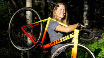 Maghalie Rochette will be racing on a Specialized CruX for her new CX Fever program in 2018/19.