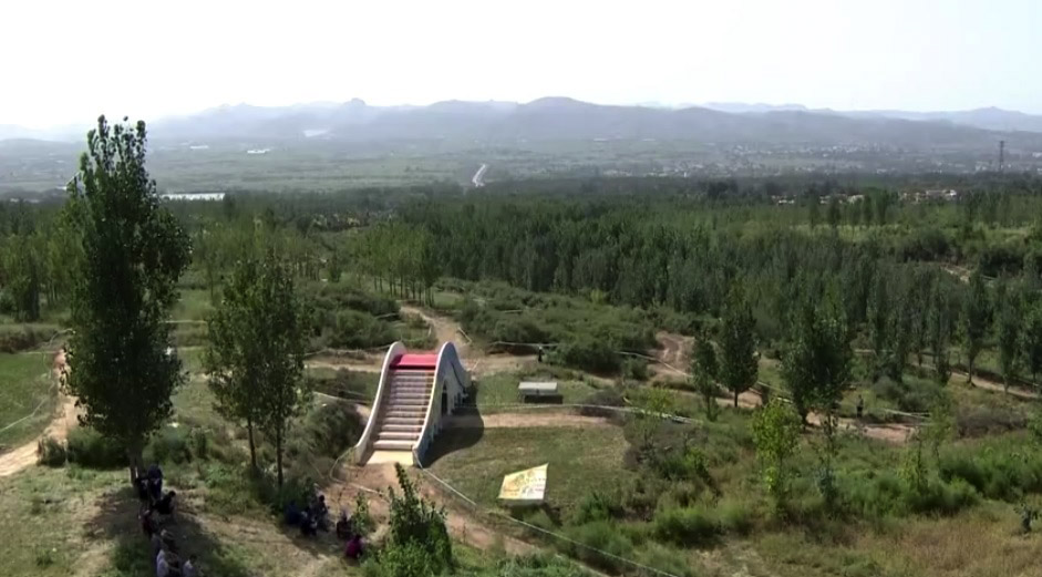 The venue for Round 2 of the Qiansen Trophy was a bit greener than the first stop. photo: screen shot