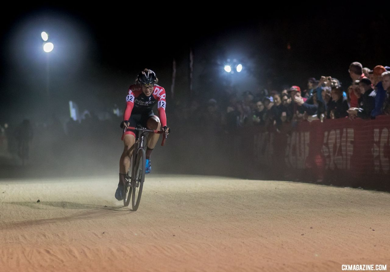 Bjorn Selander said at the final CrossVegas his goal was to win. At the 2018 RenoCross, he got close to his goal with a third-place finish. © A. Yee / Cyclocross Magazine