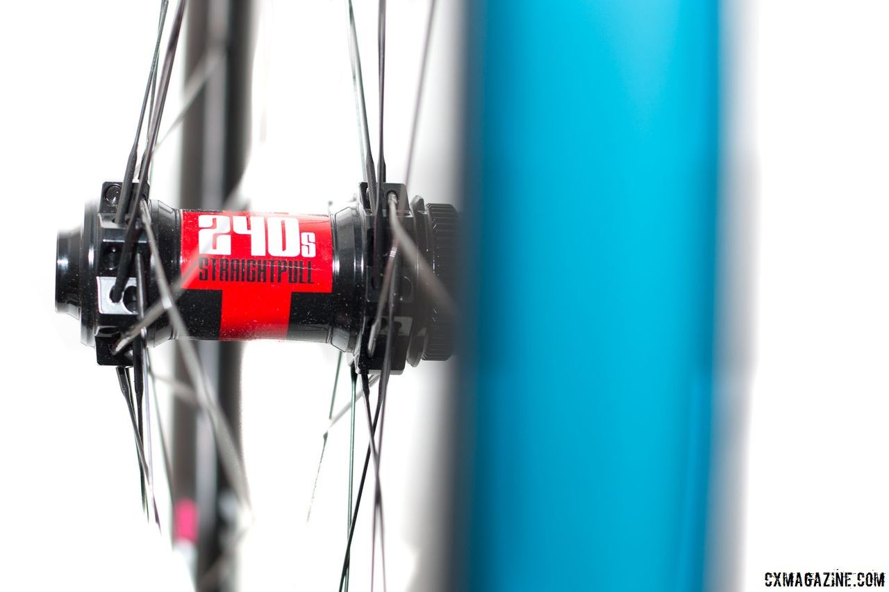 The G21 Pro wheels come with ST Swiss' 240s hub, which is an upgrade over the one available with the G21 model. Revin Cycling G21 Pro Carbon Tubeless Clinchers. © Cyclocross Magazine