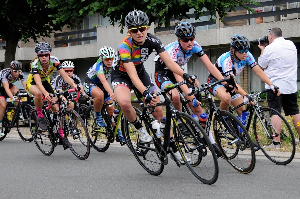 Although Lauren De Crescenzo will never race a kermesse in Europe again, she does have a second life on the bike as a gravel racer. photo: courtesy