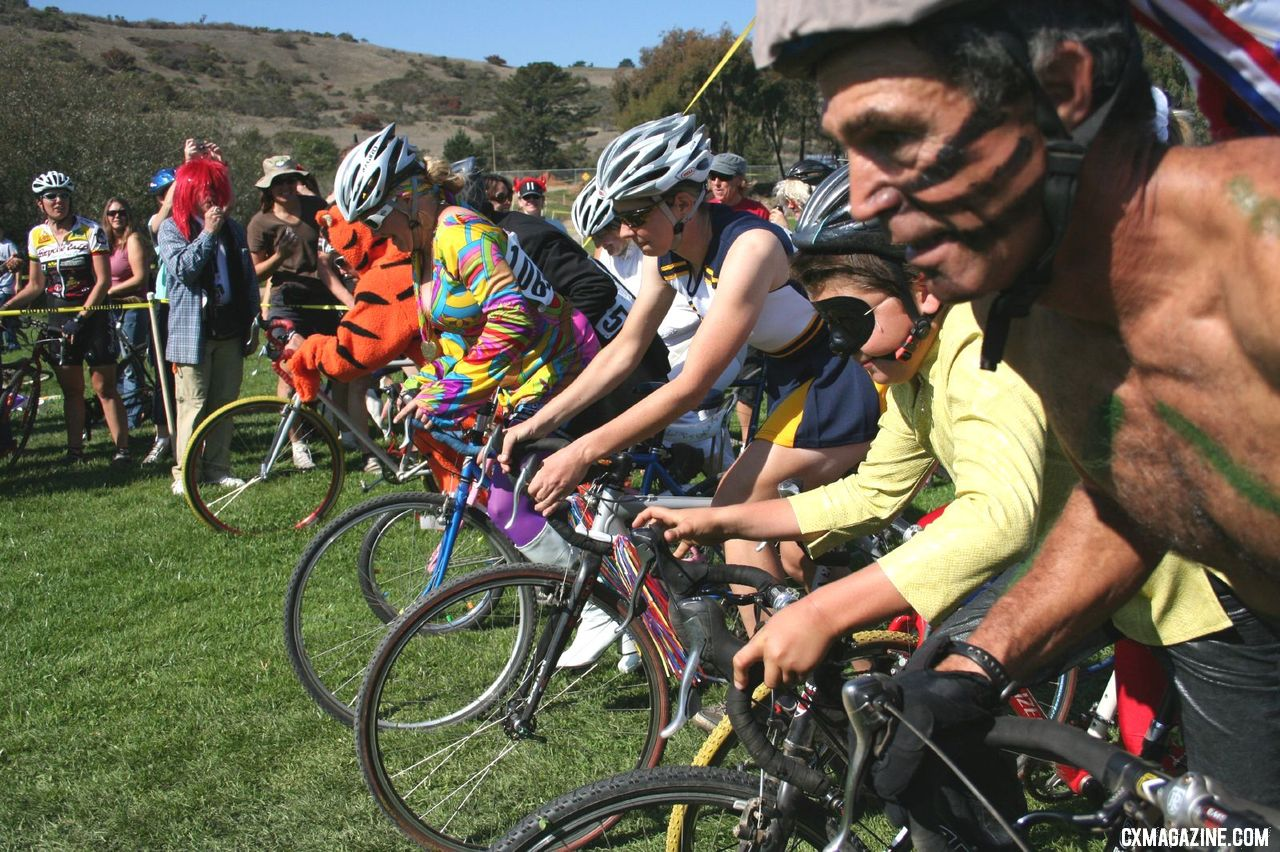 The long tradition of Surf City Costume Cross returns this Sunday in Bonny Doon. © Cyclocross Magazine