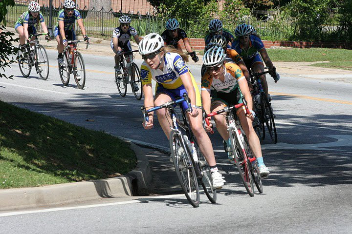 De Crescenzo raced for Emory University when she was in college. photo: courtesy