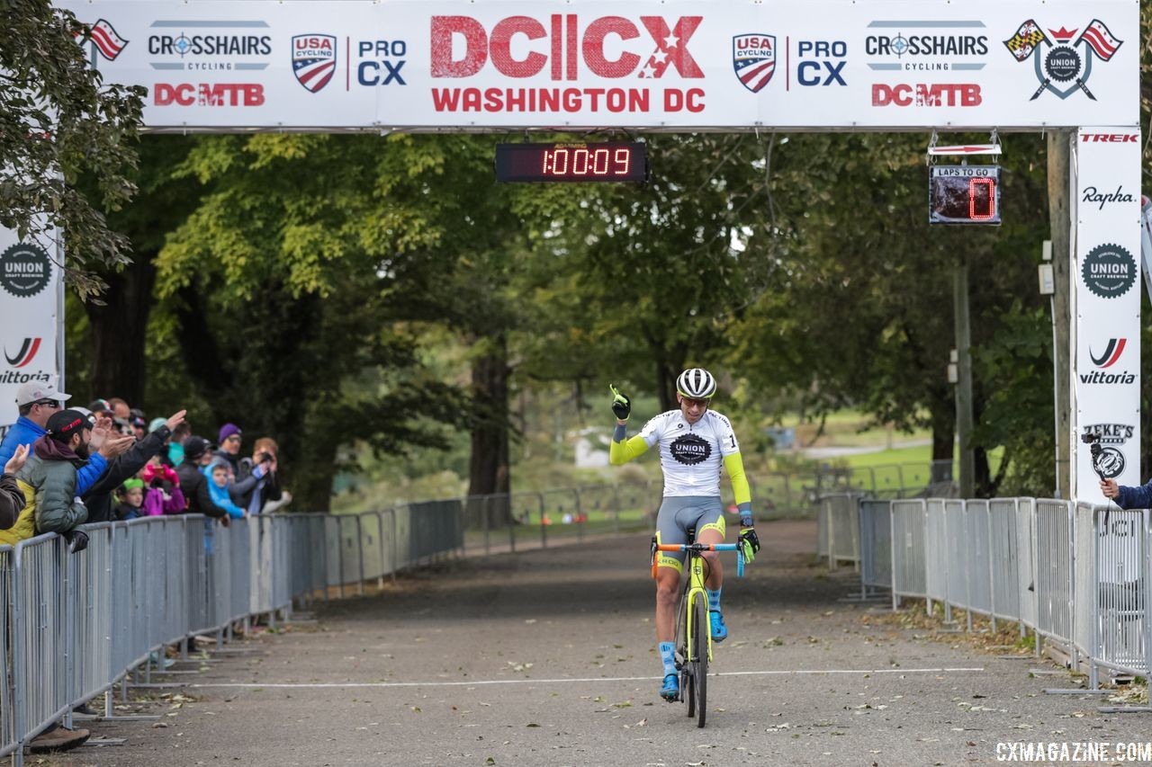 Two-for-two again this year at DCCX for Kerry Werner. 2018 DCCX Day 2. © B. Buckley