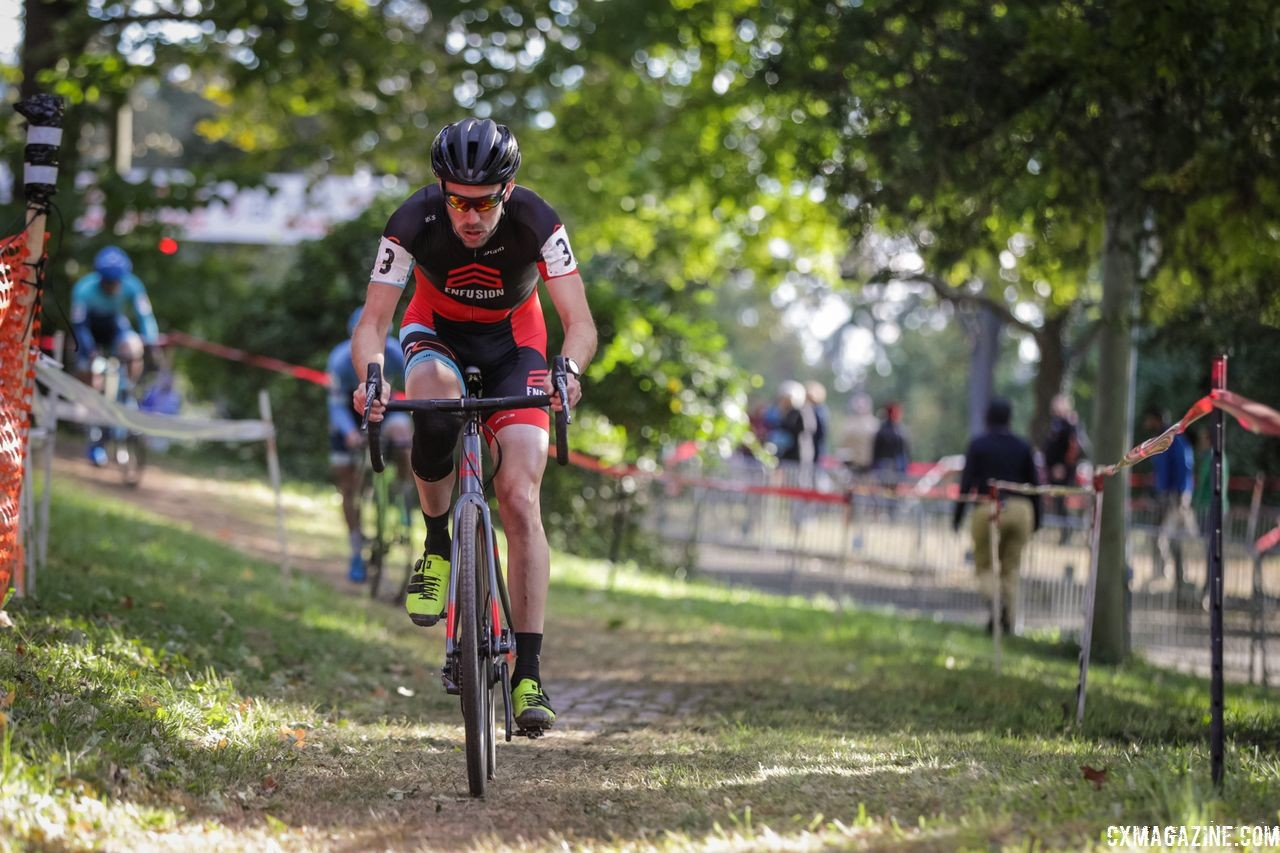 Travis Livermon reached the podium again on Sunday. 2018 DCCX Day 2. © B. Buckley