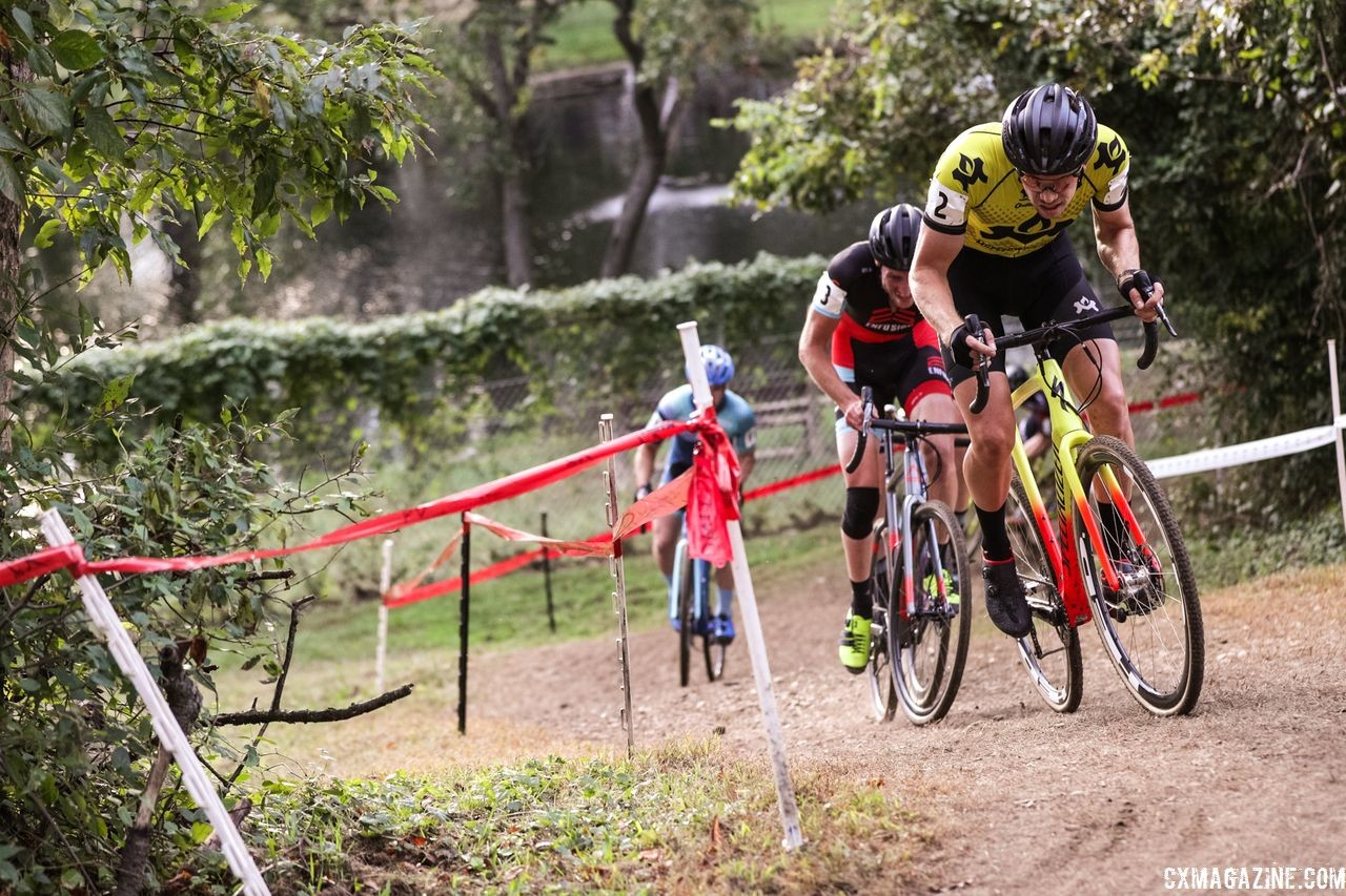 Eric Thompson powered to third on Saturday. 2018 DCCX Day 1. © B. Buckley