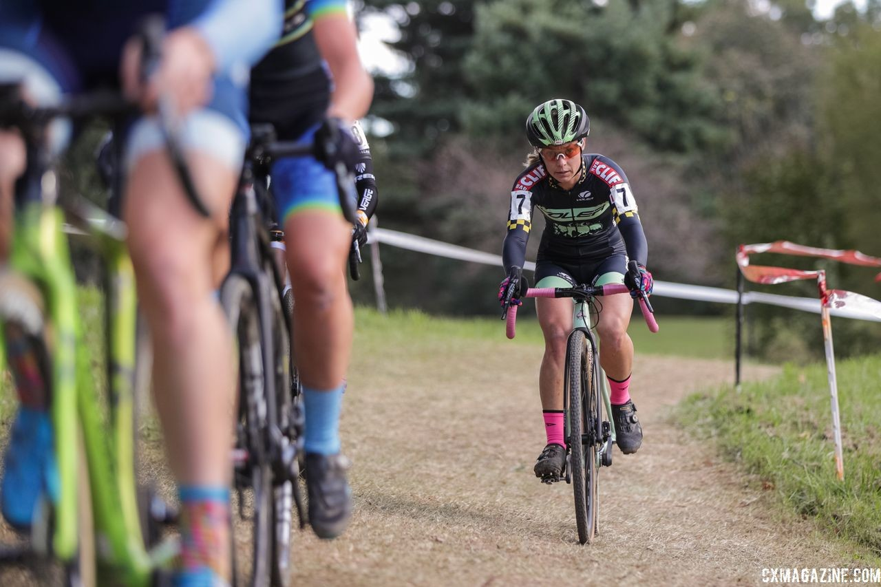 Caroline Nolan was in the podium mix again on Sunday. 2018 DCCX Day 2. © B. Buckley
