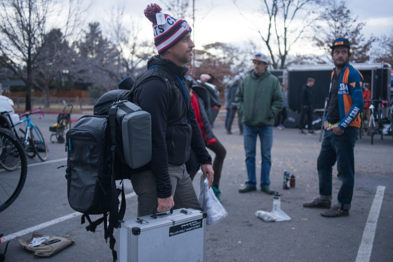 Coleman arrived in Reno ready to make his project a reality. photo: Patrick Means