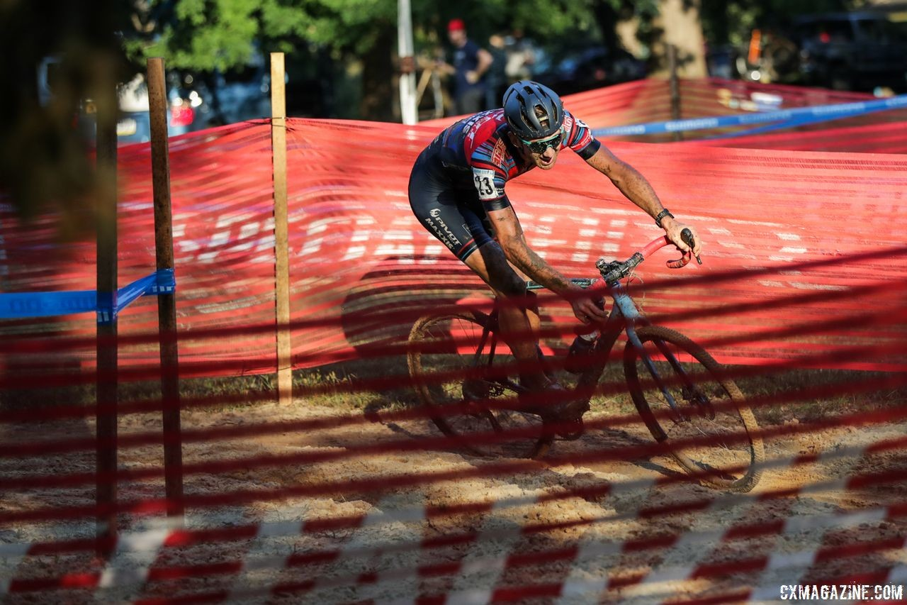 Jamey Driscoll had a smooth ride en route to a win at Charm City Day 2. 2018 Charm City Cross Day 2. © B. Buckley
