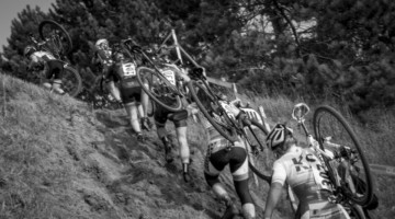 Run, don't ride to Green Acres CX in Minnesota this year. photo: Todd Fawcet