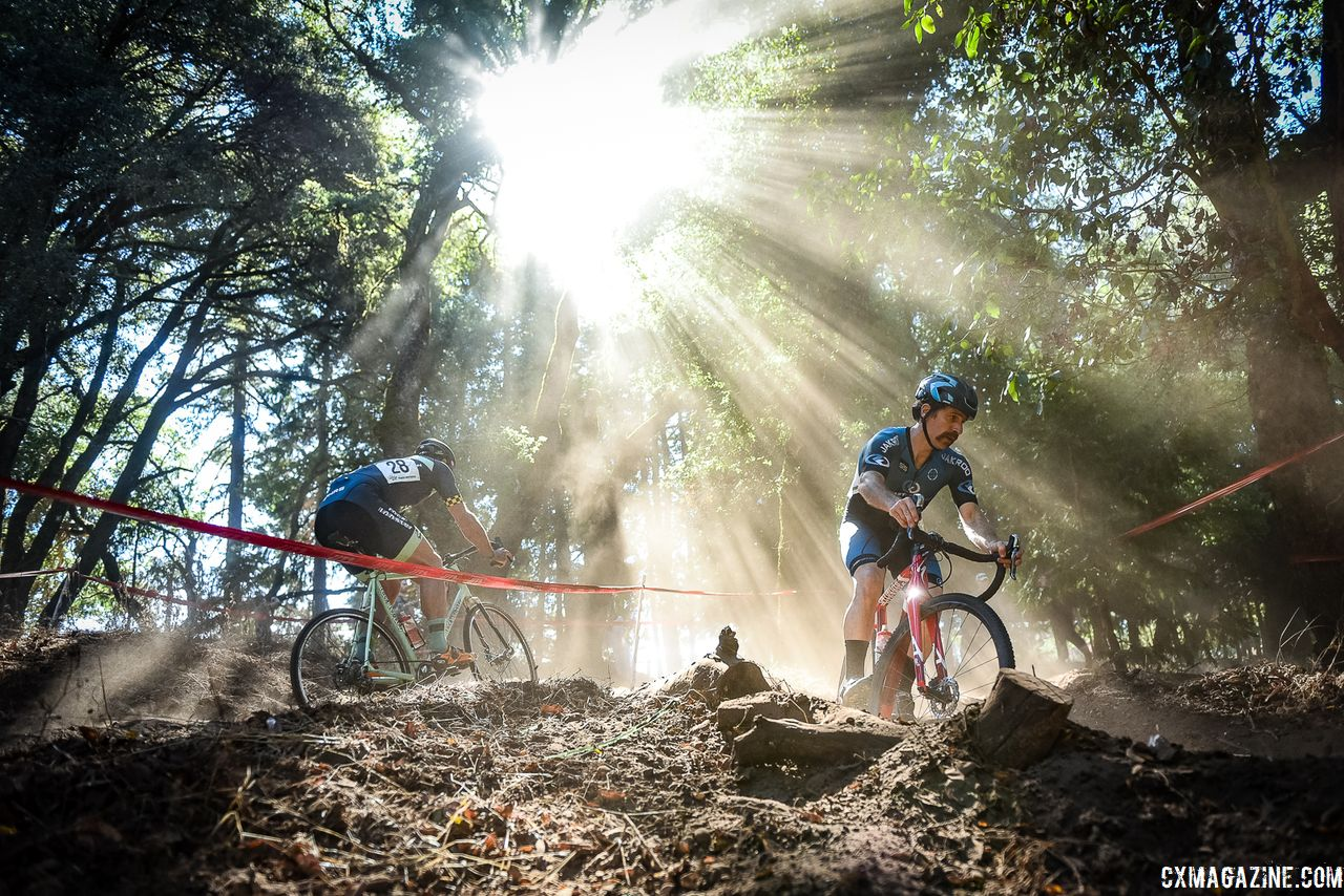 It was a beautiful day with beautiful light for cyclocross in NorCal. 2018 Surf City Rock Lobster Cup. © J. Vander Stucken / Cyclocross Magazine
