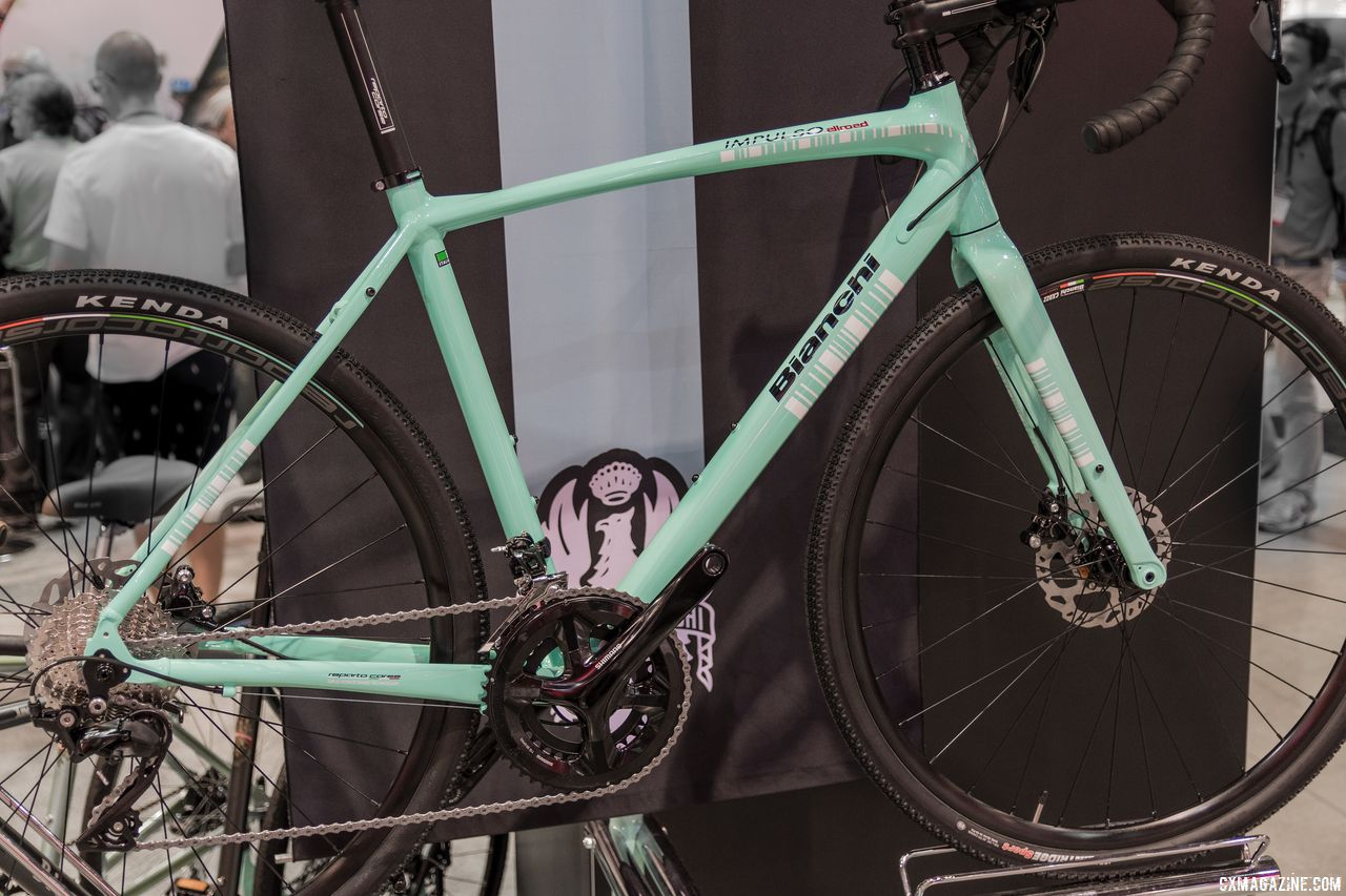 Bianchi's Orso and Impulso All Road and E-Road Aria Hub