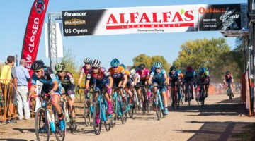 Elite Women, 2018 US Open of Cyclocross Day 1. © Col Elmore