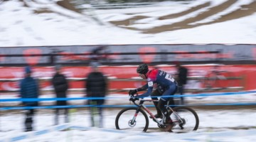 Maxx Chance took eighth at his home state race. 2018 US Open of Cyclocross, Day 2. © Col Elmore