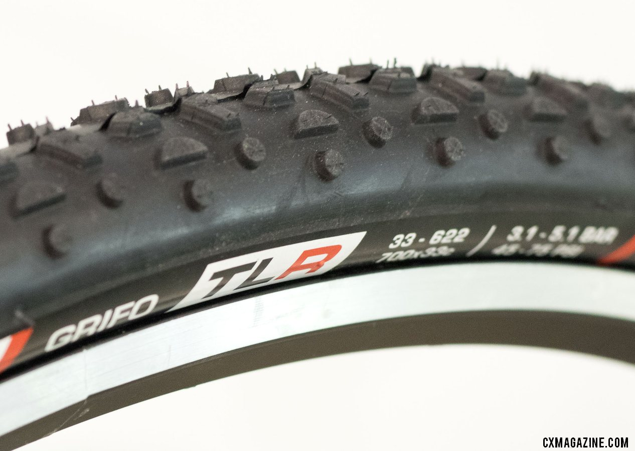 Challenge is now offering its Grifo in a tubeless option. New Challenge cyclocross and gravel tires from 2018 Interbike. © Cyclocross Magazine