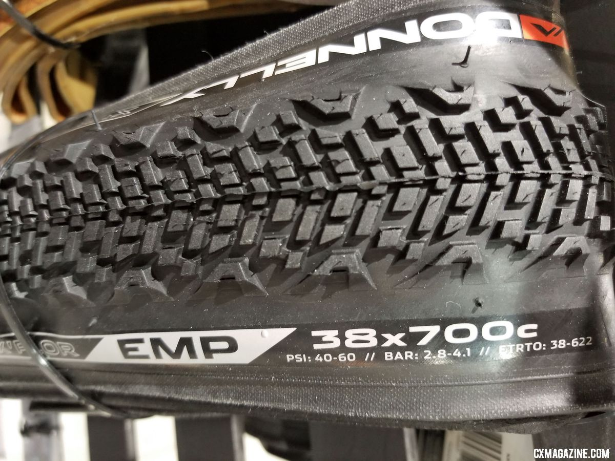 New Donnelly cyclocross and gravel tires from 2018 Interbike. © Cyclocross Magazine