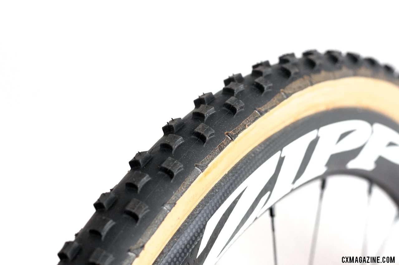 Need grip and mud shedding in sloppy conditions? Dugast's Ernst mud tubular could be the ticket. © Cyclocross Magazine