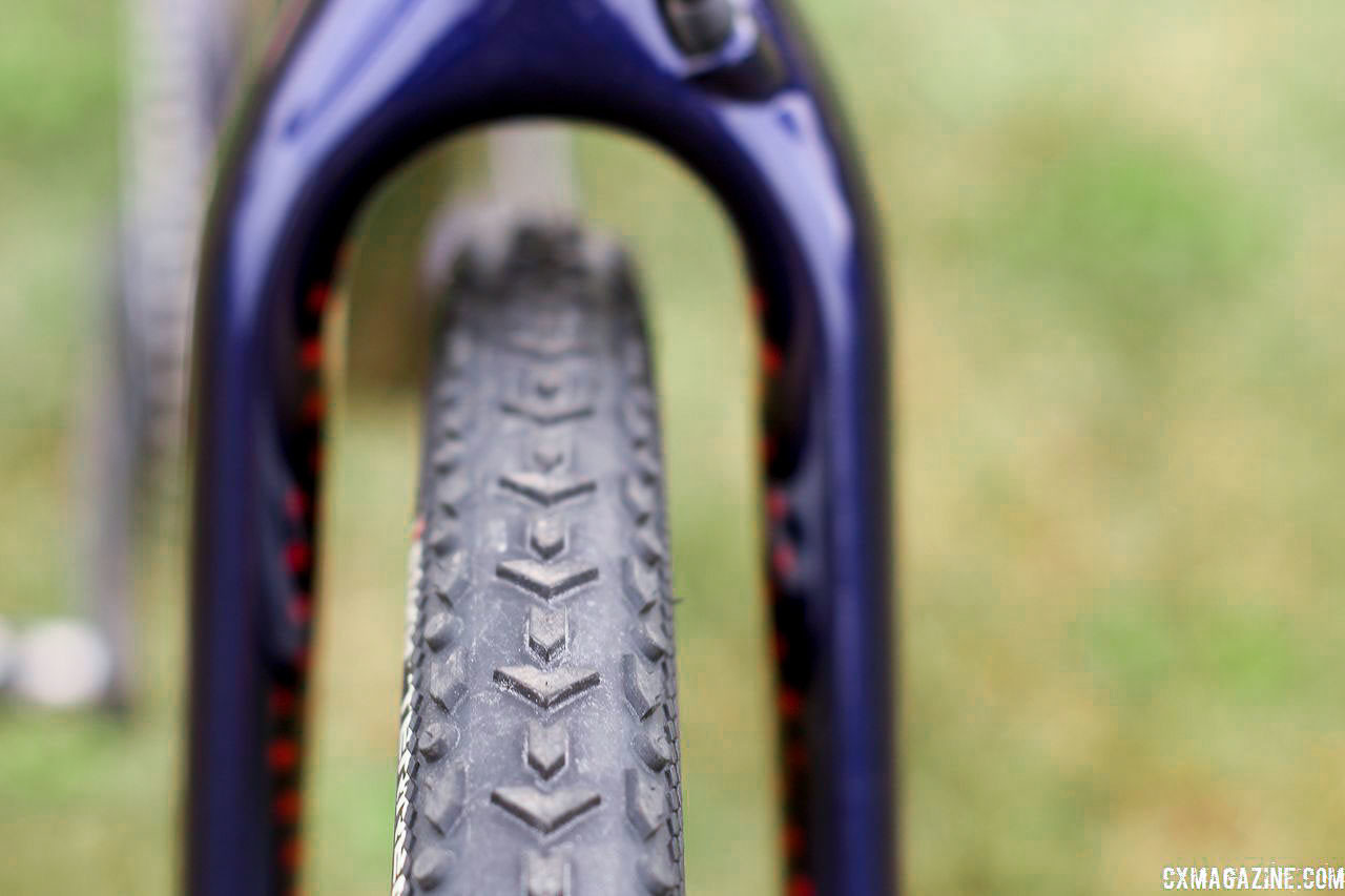 Hyde ran the Terreno Mix on Friday and the Terreno Dry on Sunday in Waterloo. Stephen Hyde's 2018/19 Cannondale SuperX Cyclocross Bikes. © Z. Schuster / Cyclocross Magazine