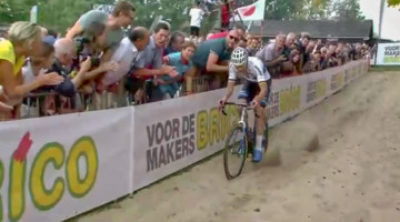 Mathieu van der Poel wins 2018 Brico Cross Meulebeke