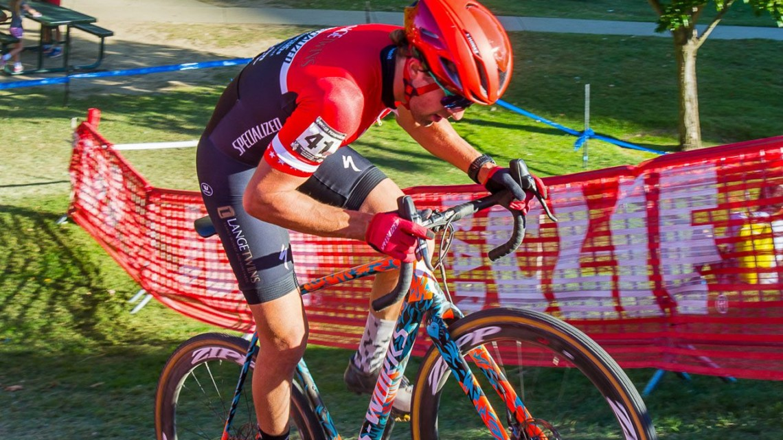 Cody Kaiser put on a show in front of his hometown fans and sponsors. 2018 WSCXGP Day 1. © L. Lamoureux