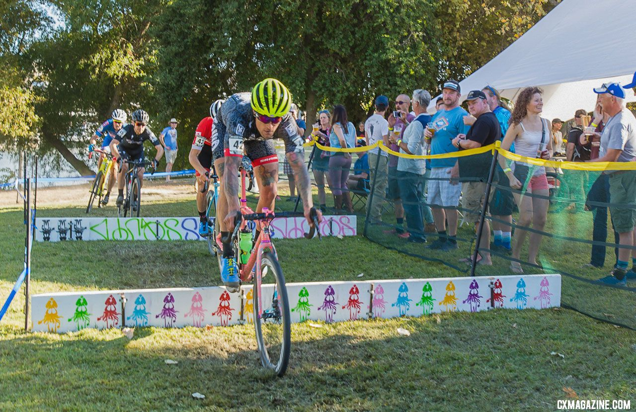 Anthony Clark hopped to his first victory of the season. 2018 WSCXGP Day 1. © L. Lamoureux
