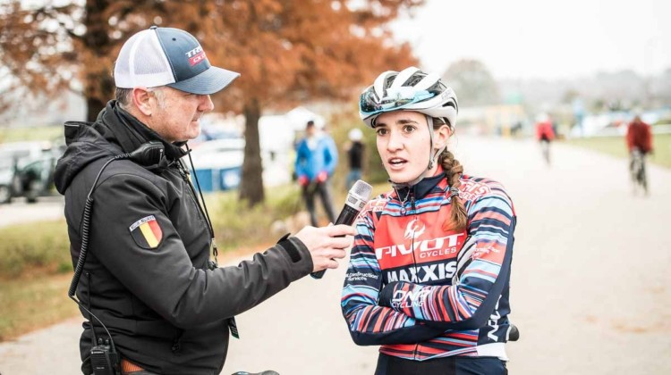Sofia Gomez Villafane. 2018 Major Taylor Cross Cup Day 2. © Mike Almert, Action Images Indy